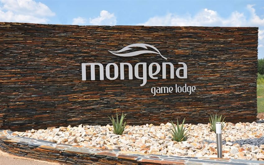 Entrance to Mongena Game Lodge